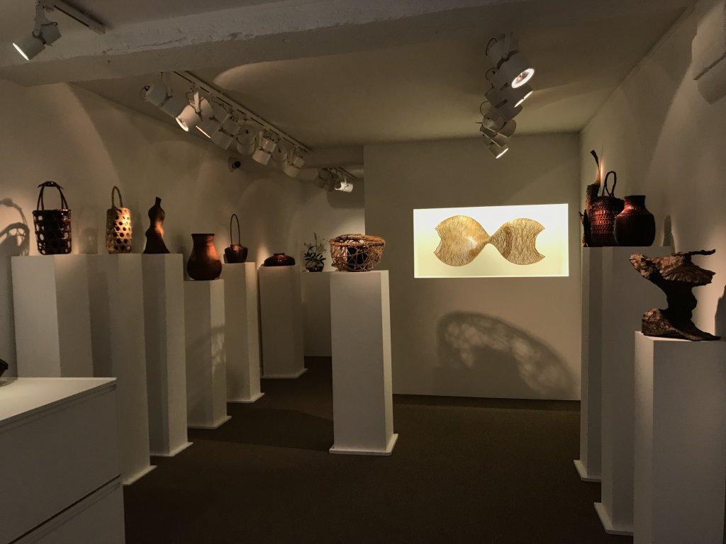 Vue de l'exposition L'art du bambou - Galerie Mingei (10)