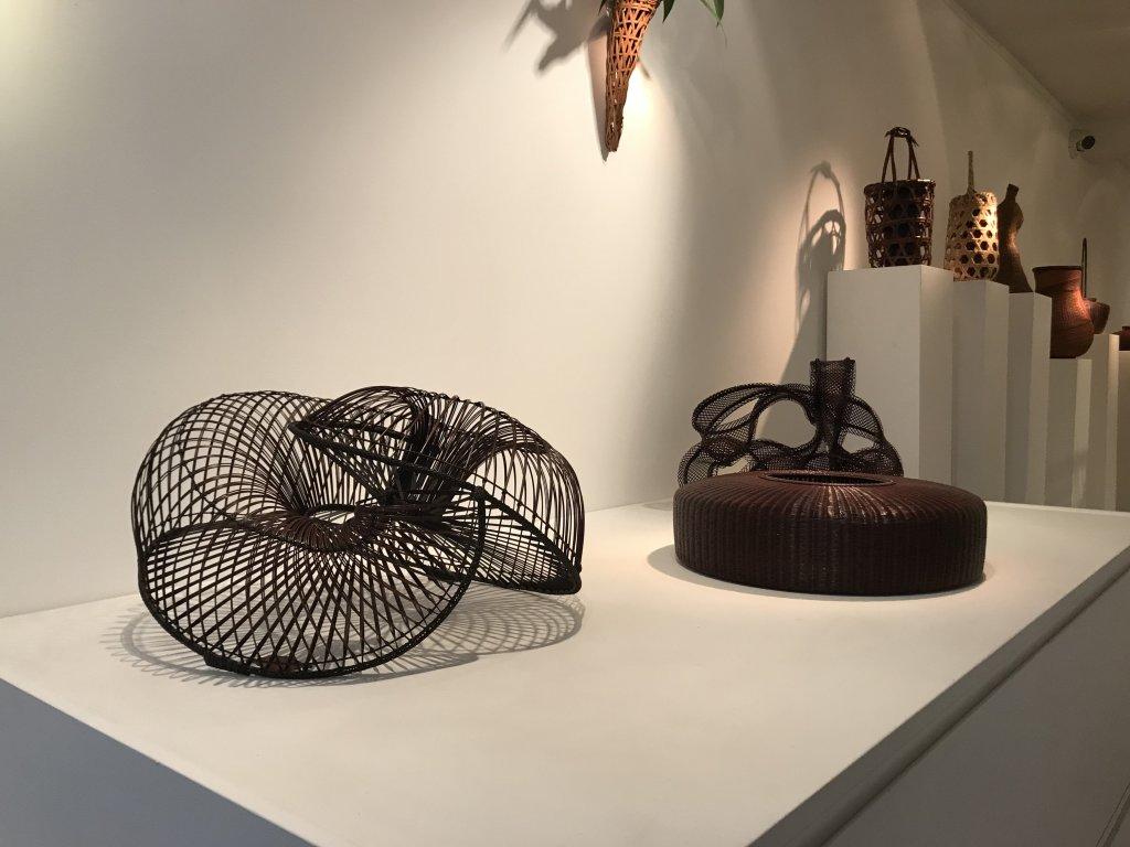 Vue de l'exposition L'art du bambou - Galerie Mingei (12)