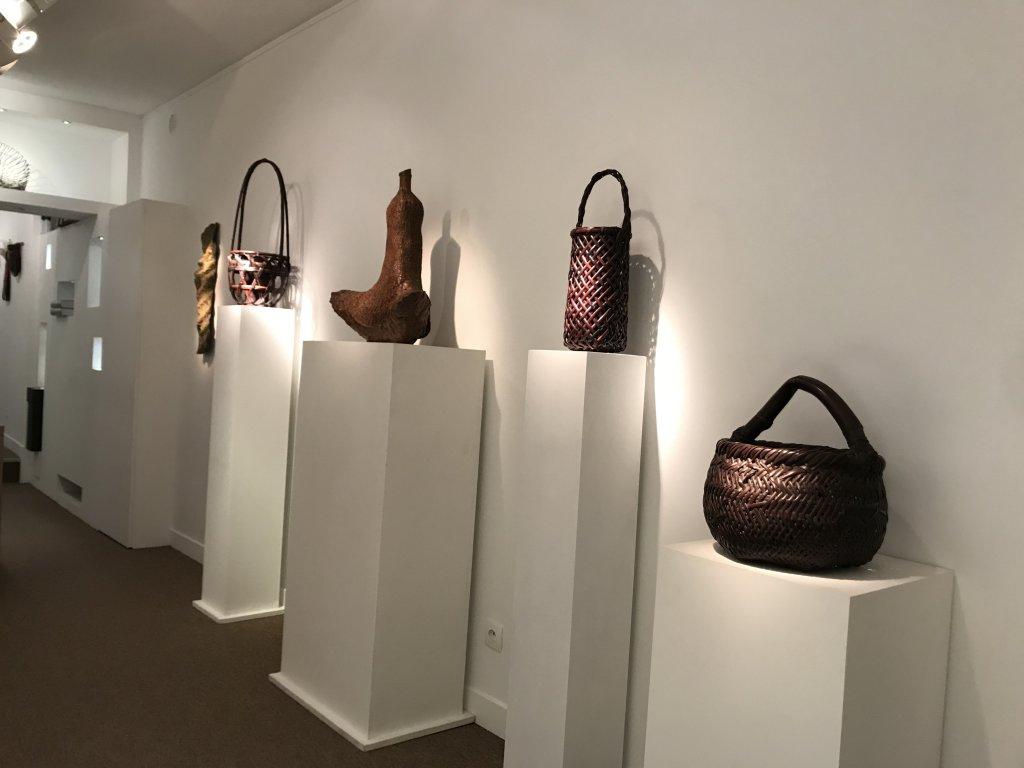 Vue de l'exposition L'art du bambou - Galerie Mingei (17)