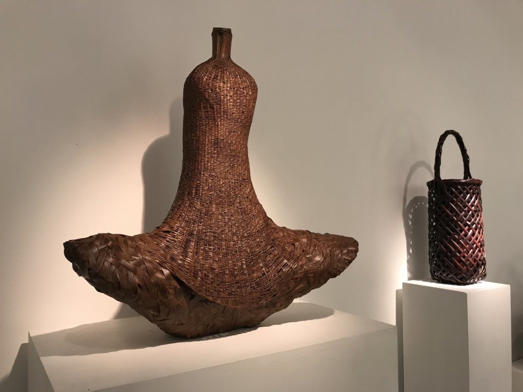 Vue de l'exposition L'art du bambou - Galerie Mingei (18)