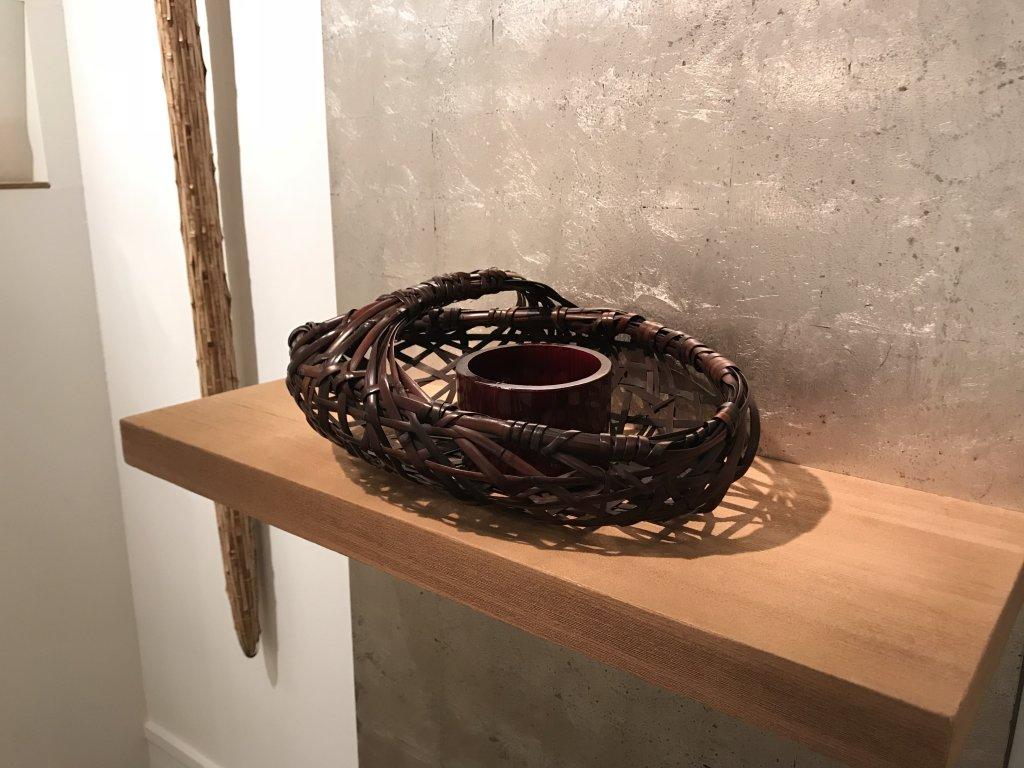 Vue de l'exposition L'art du bambou - Galerie Mingei (19)