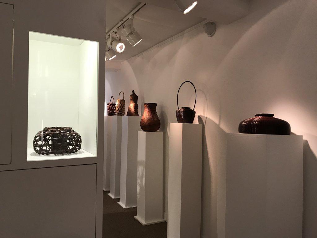 Vue de l'exposition L'art du bambou - Galerie Mingei (23)
