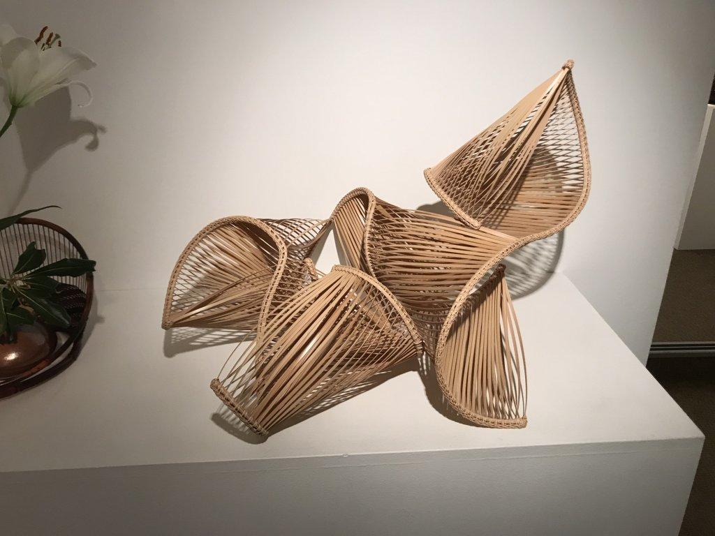Vue de l'exposition L'art du bambou - Galerie Mingei (24)
