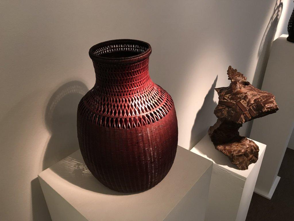 Vue de l'exposition L'art du bambou - Galerie Mingei (25)