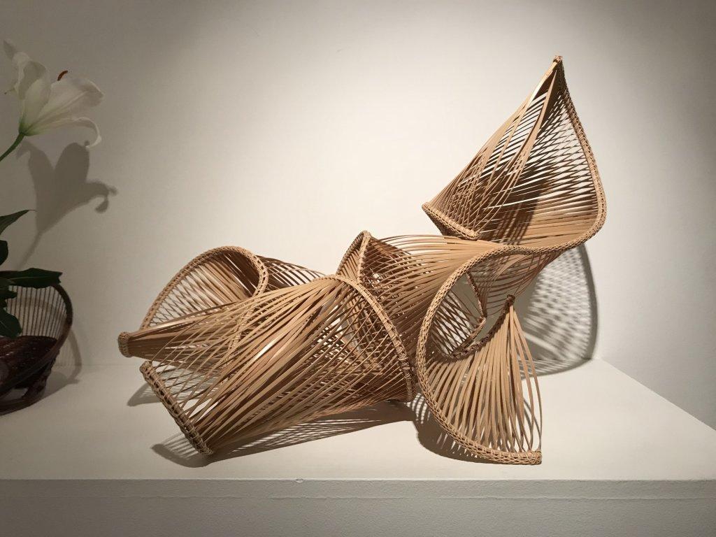 Vue de l'exposition L'art du bambou - Galerie Mingei (3)