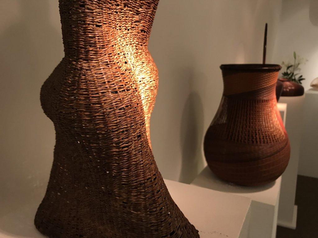 Vue de l'exposition L'art du bambou - Galerie Mingei (32)