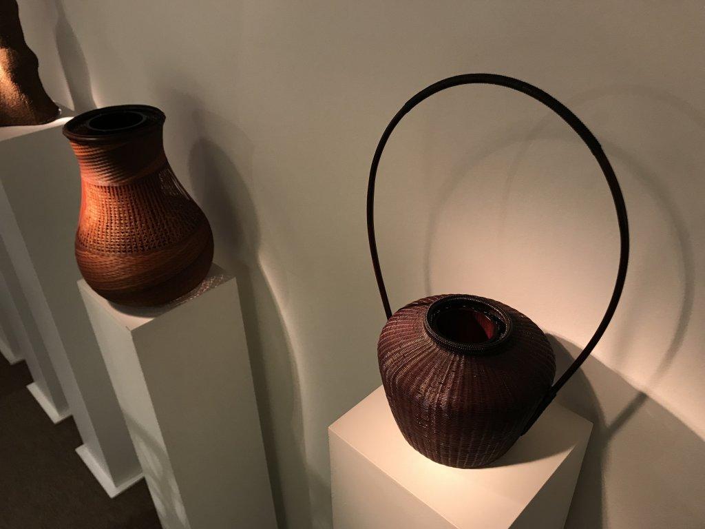 Vue de l'exposition L'art du bambou - Galerie Mingei (35)