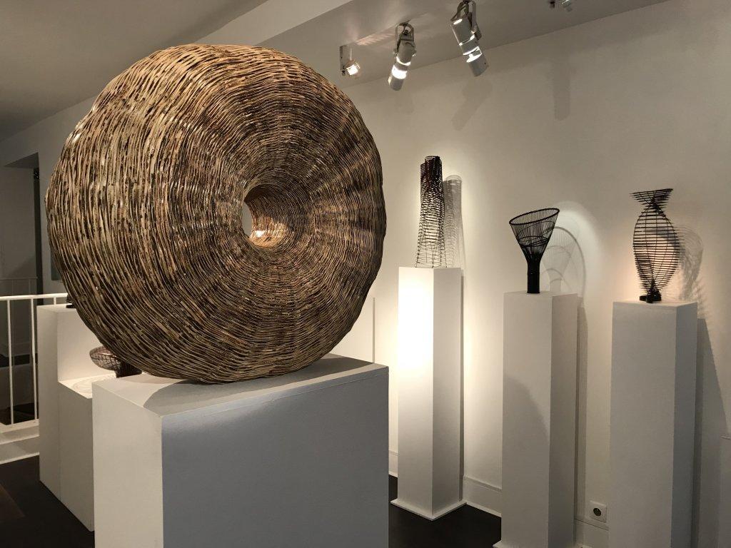 Vue de l'exposition L'art du bambou - Galerie Mingei (39)