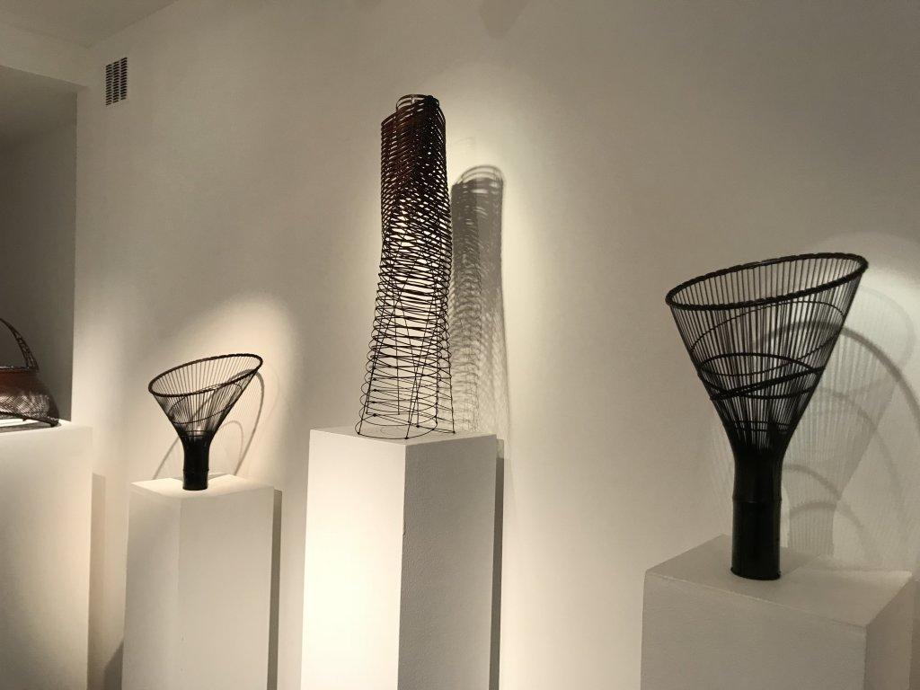 Vue de l'exposition L'art du bambou - Galerie Mingei (40)