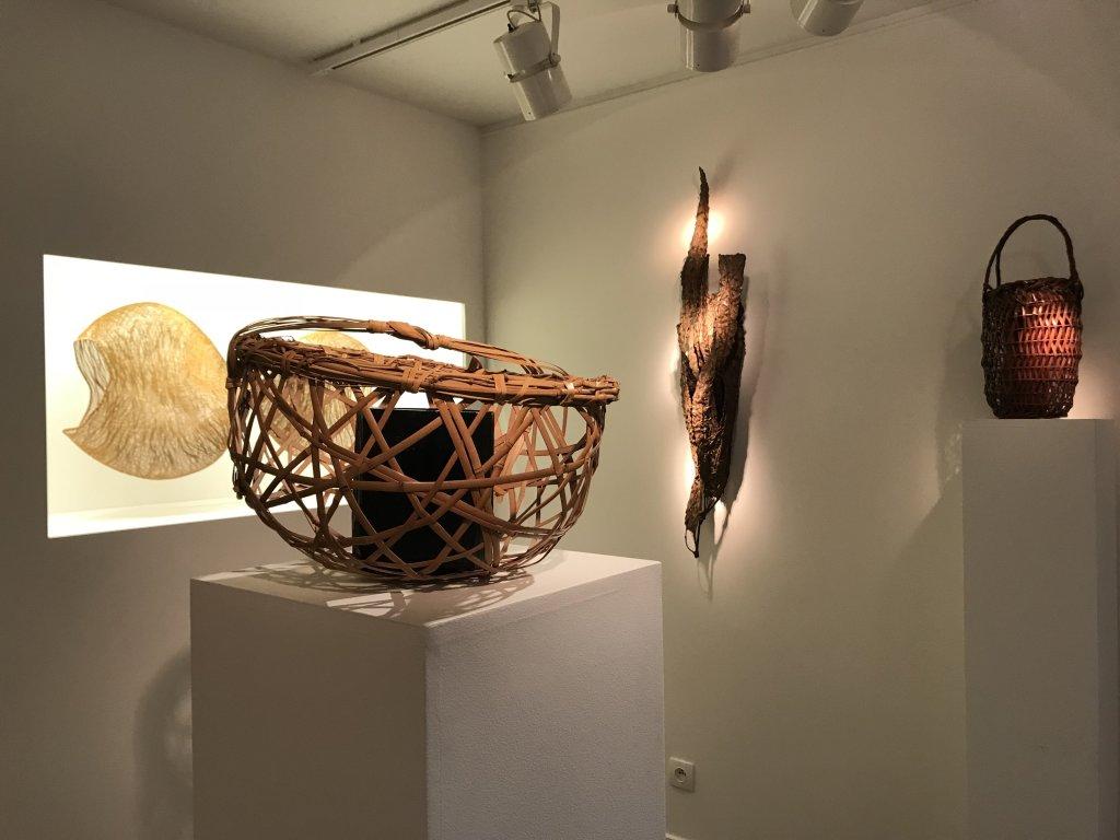 Vue de l'exposition L'art du bambou - Galerie Mingei (7)