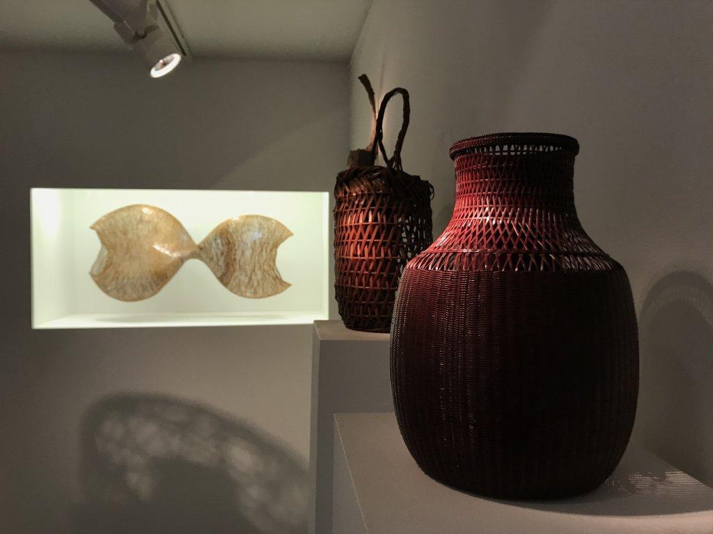 Vue de l'exposition L'art du bambou - Galerie Mingei (8)