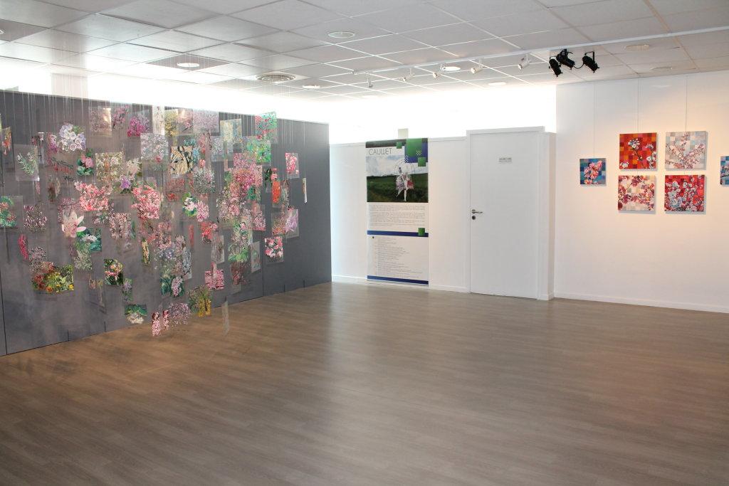 Vue de l'exposition Primavera - Galerie d'art municipale, Corbeil-Essonnes