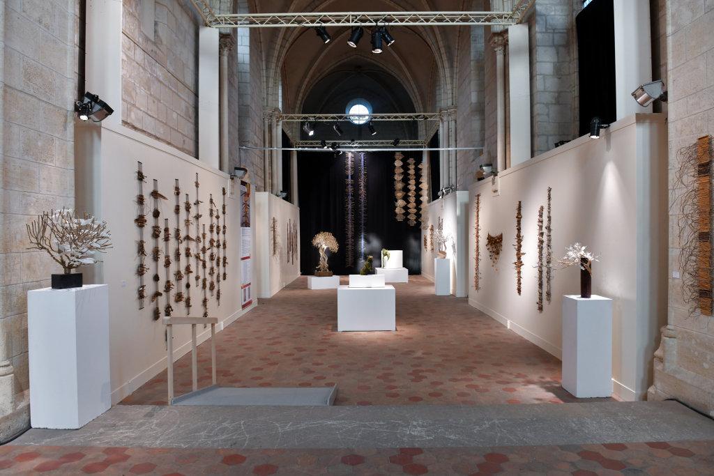 Vue de l'exposition Les Arborés - Commanderie Saint-Jean, Corbeil-Essonnes (2)