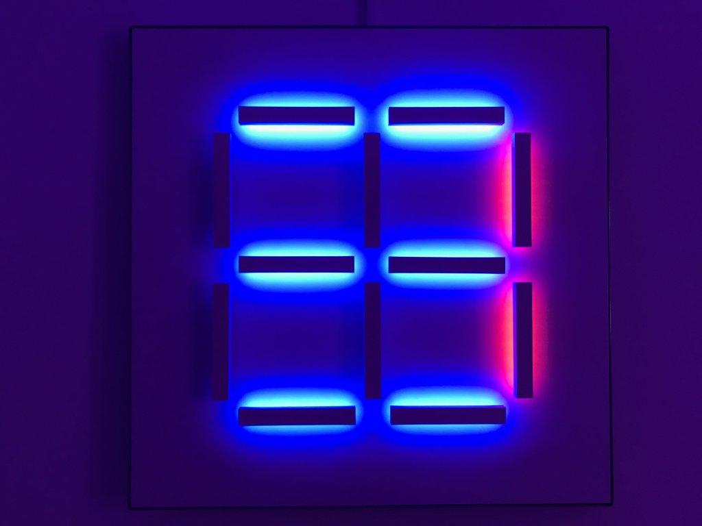 Vue de l'exposition Light matters - Fondation EDF (1)