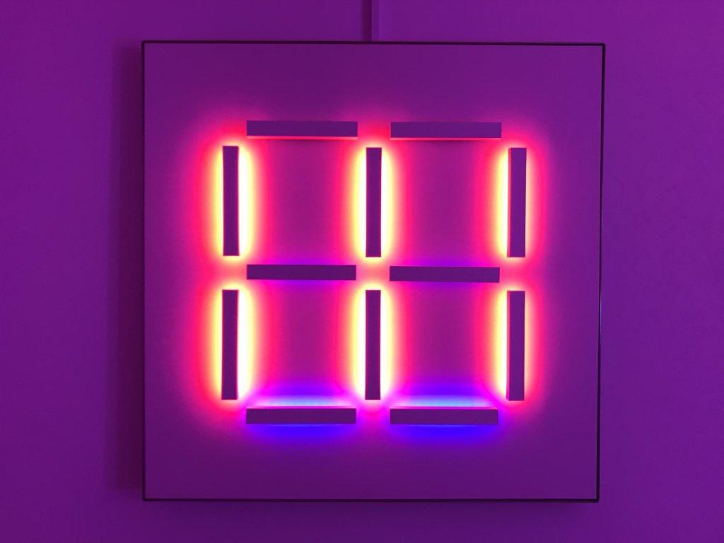 Vue de l'exposition Light matters - Fondation EDF (10)