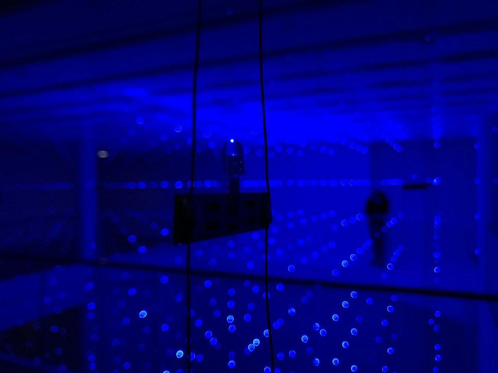 Vue de l'exposition Light matters - Fondation EDF (15)