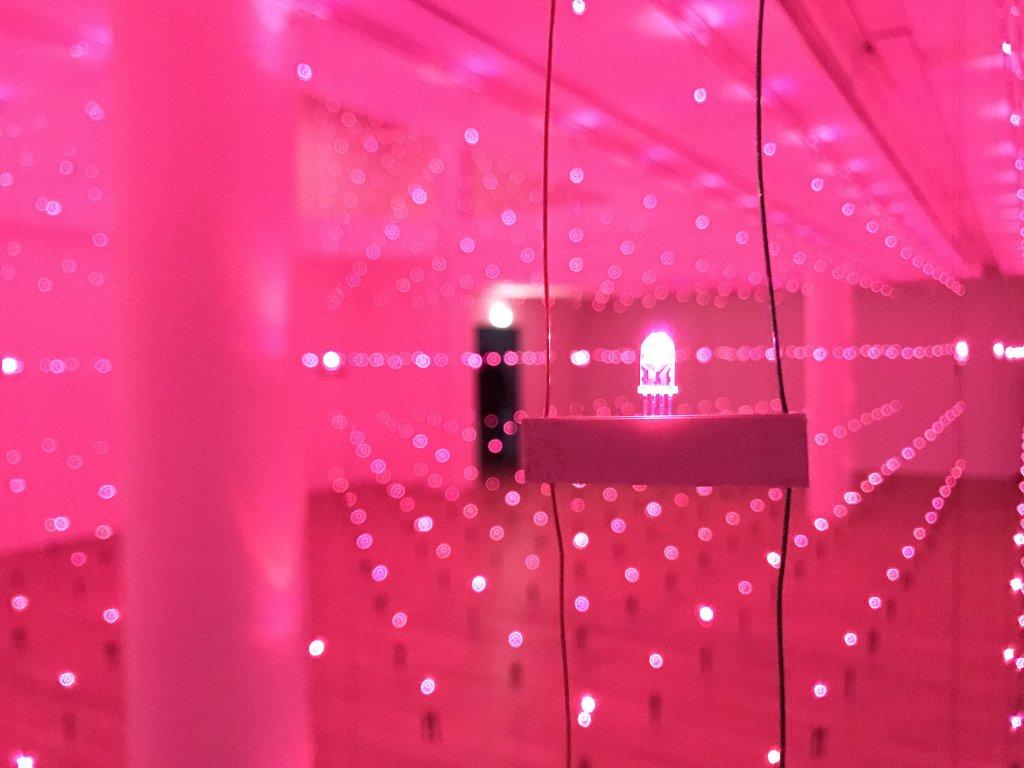 Vue de l'exposition Light matters - Fondation EDF (16)