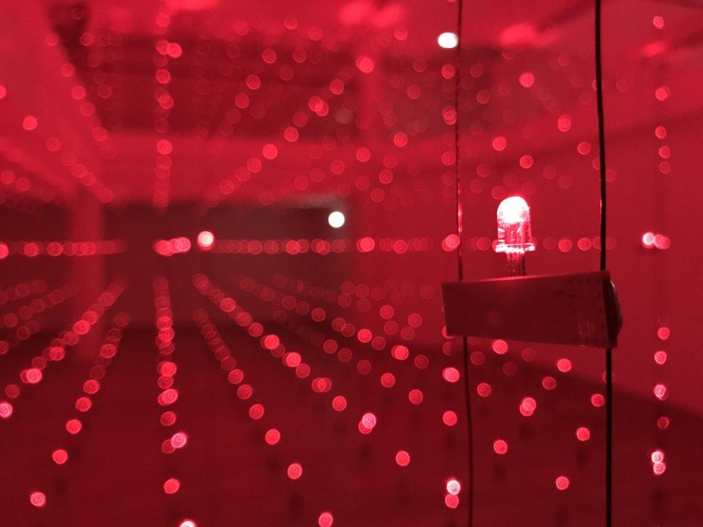 Vue de l'exposition Light matters - Fondation EDF (18)
