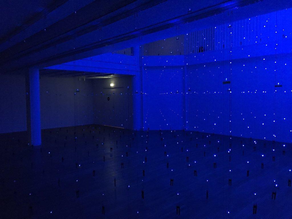Vue de l'exposition Light matters - Fondation EDF (2)