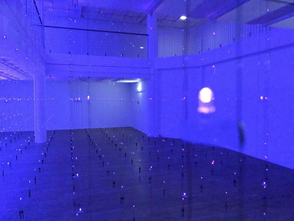 Vue de l'exposition Light matters - Fondation EDF (20)