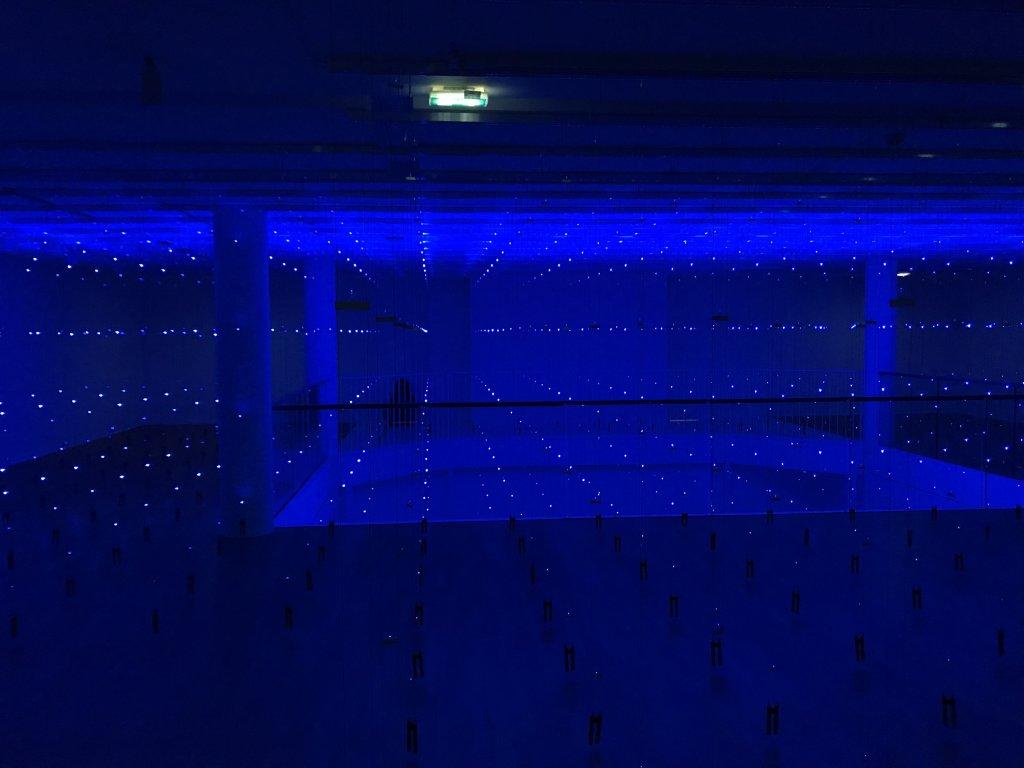 Vue de l'exposition Light matters - Fondation EDF (3)
