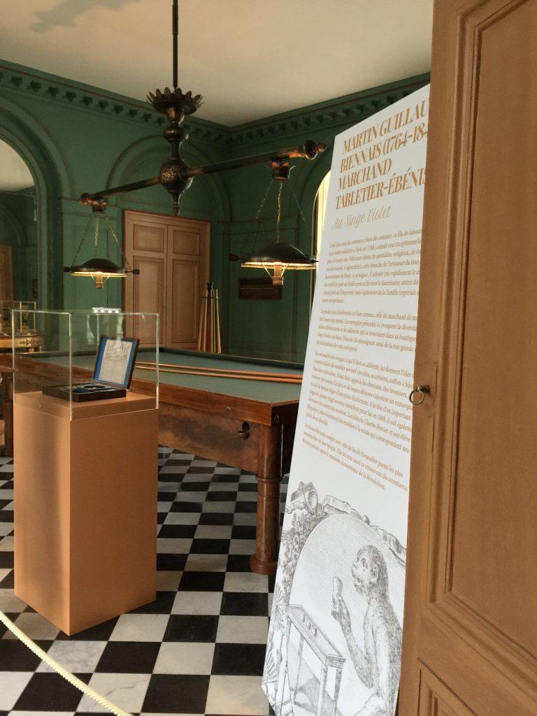 Vue de l'exposition Meubles à Secrets secrets de meubles - Château La Malmaison (2)