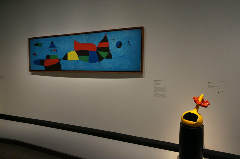 Vue de l'exposition Miro au Grand Palais - Paris 2018 (28)