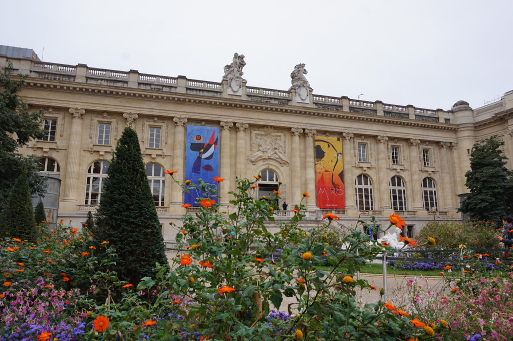 Vue de l'exposition Miro au Grand Palais - Paris 2018 (3)