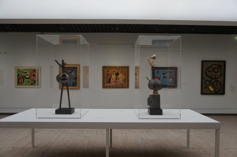 Vue de l'exposition Miro au Grand Palais - Paris 2018 (41)