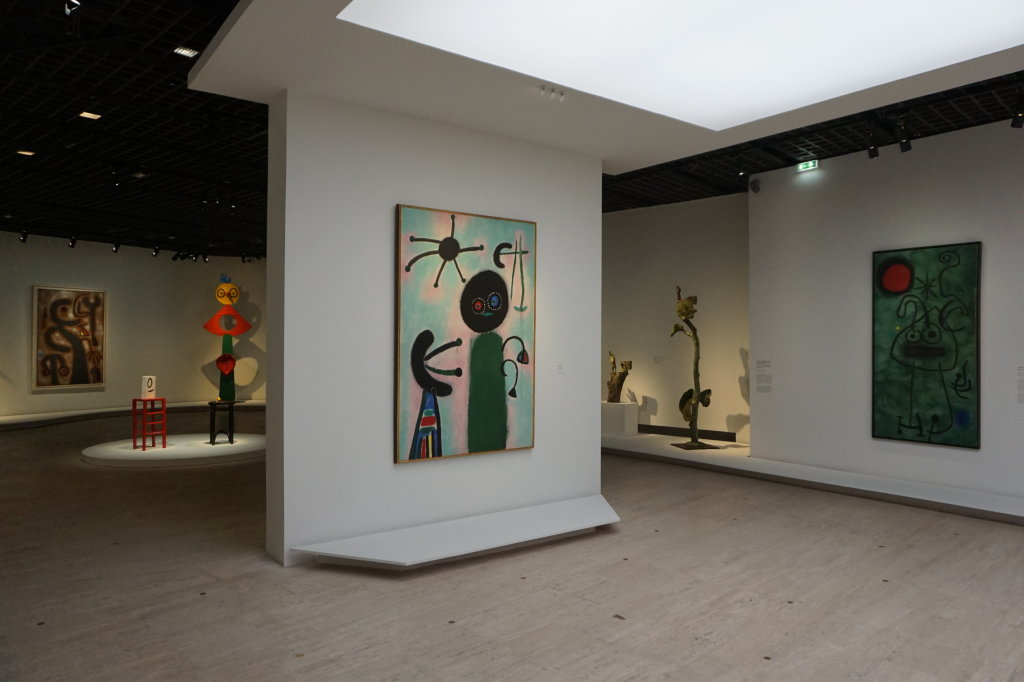Vue de l'exposition Miro au Grand Palais - Paris 2018 (42)