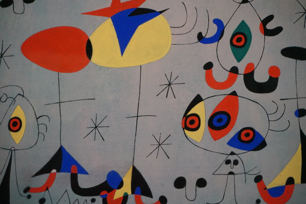 Vue de l'exposition Miro au Grand Palais - Paris 2018 (47)