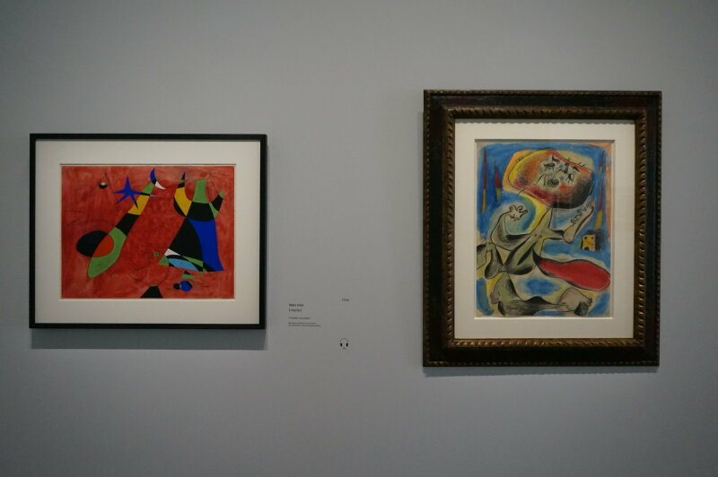 Vue de l'exposition Miro au Grand Palais - Paris 2018 (57)