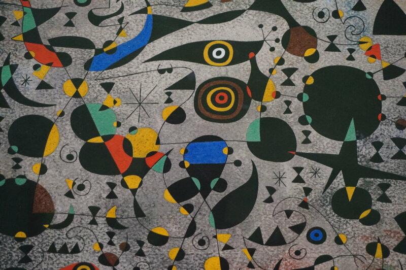 Vue de l'exposition Miro au Grand Palais - Paris 2018 (58)