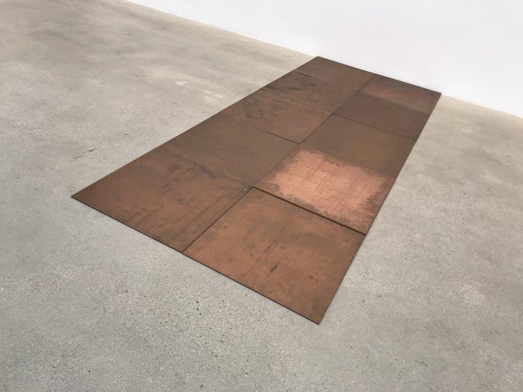 Vue de l'exposition Monumental Minimal - Galerie Thaddaeus Ropac, Pantin (21)