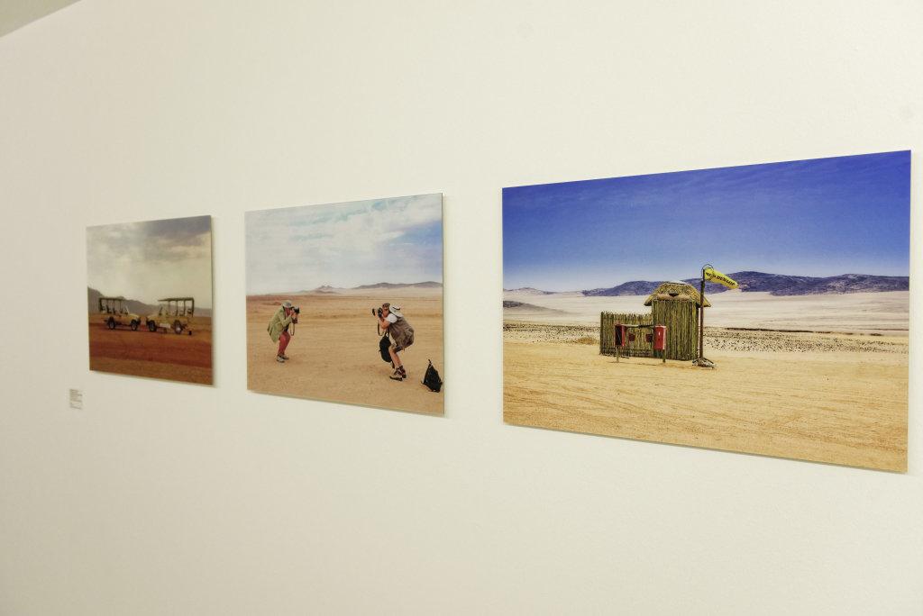 Vue de l'exposition Namibia, l'art d'une jeune géNérATION - Musée Würth (1)