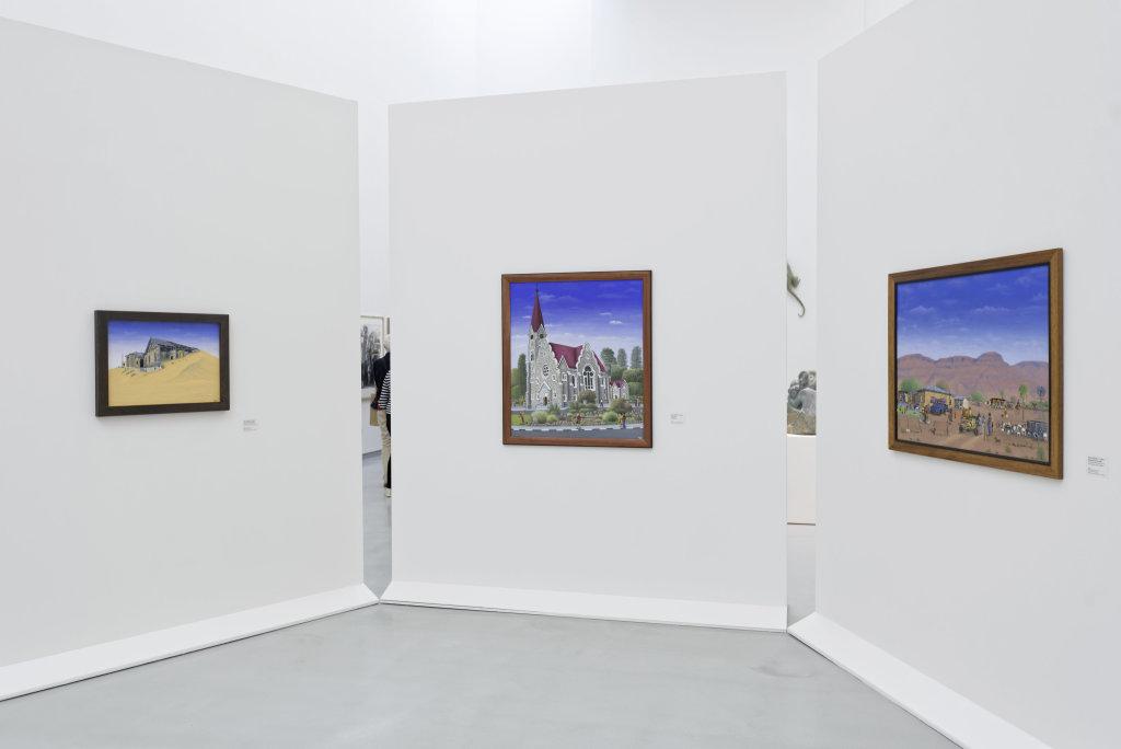 Vue de l'exposition Namibia, l'art d'une jeune géNérATION - Musée Würth (13)