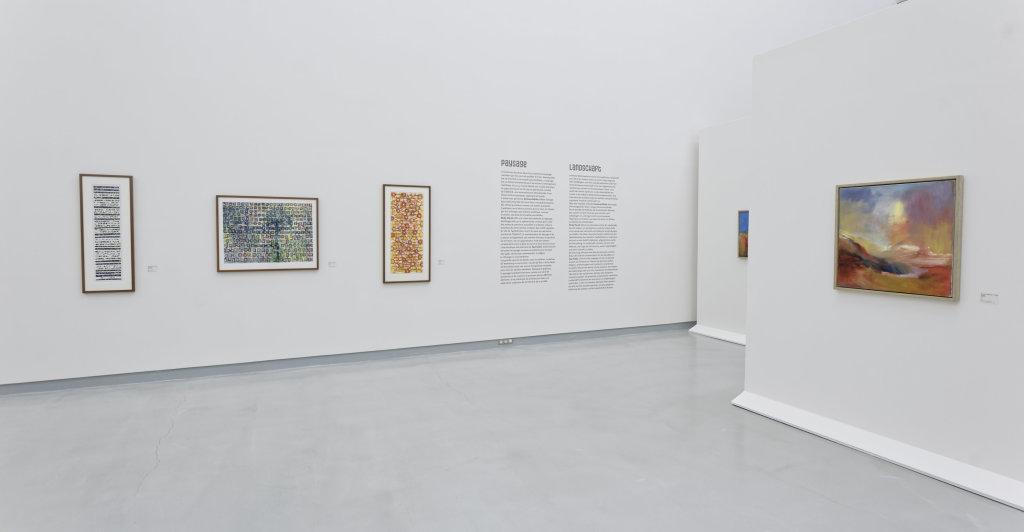 Vue de l'exposition Namibia, l'art d'une jeune géNérATION - Musée Würth (16)