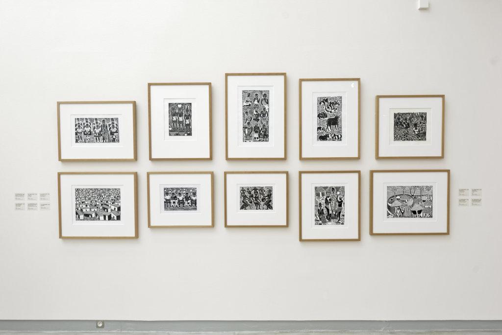 Vue de l'exposition Namibia, l'art d'une jeune géNérATION - Musée Würth (18)
