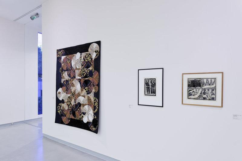 Vue de l'exposition Namibia, l'art d'une jeune géNérATION - Musée Würth (20)