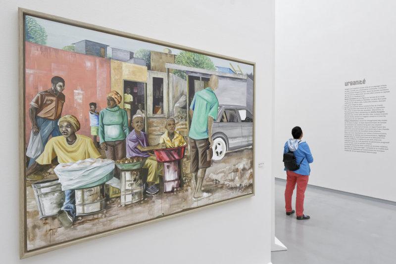 Vue de l'exposition Namibia, l'art d'une jeune géNérATION - Musée Würth (23)