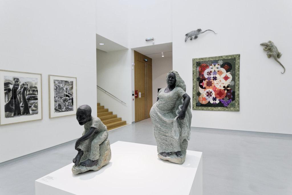 Vue de l'exposition Namibia, l'art d'une jeune géNérATION - Musée Würth (27)