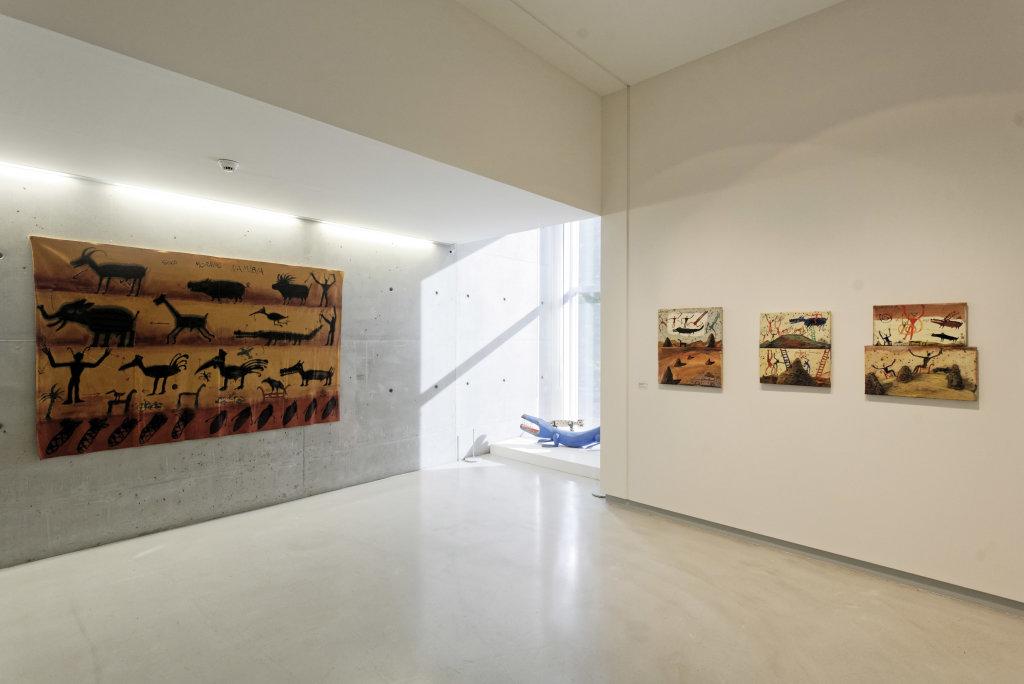 Vue de l'exposition Namibia, l'art d'une jeune géNérATION - Musée Würth (28)