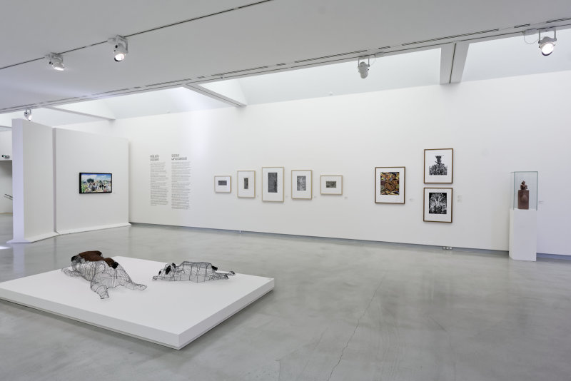 Vue de l'exposition Namibia, l'art d'une jeune géNérATION - Musée Würth (3)