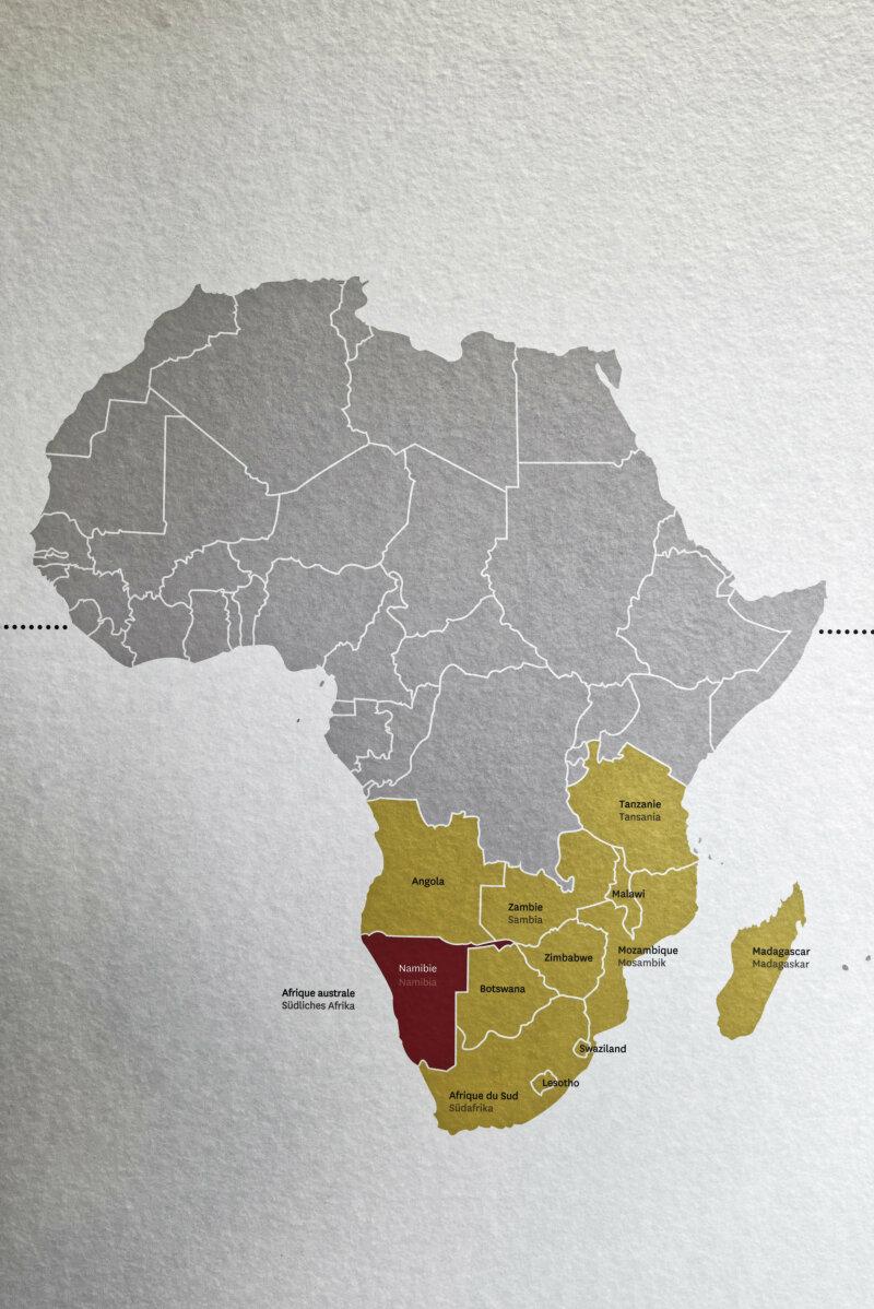 Vue de l'exposition Namibia, l'art d'une jeune géNérATION - Musée Würth (38)