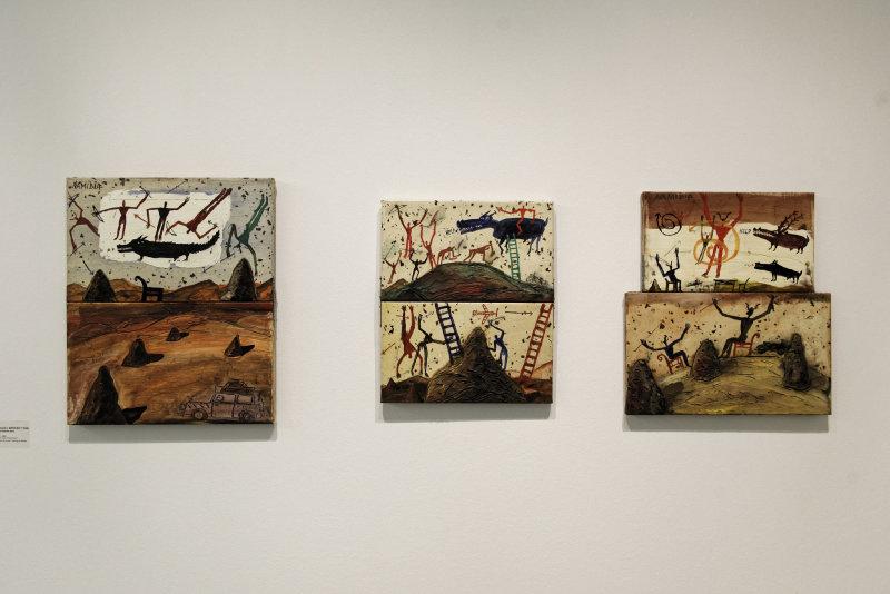 Vue de l'exposition Namibia, l'art d'une jeune géNérATION - Musée Würth (39)