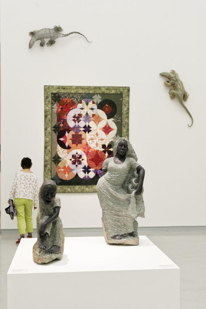 Vue de l'exposition Namibia, l'art d'une jeune géNérATION - Musée Würth (40)