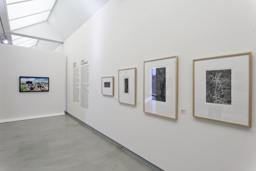 Vue de l'exposition Namibia, l'art d'une jeune géNérATION - Musée Würth (8)