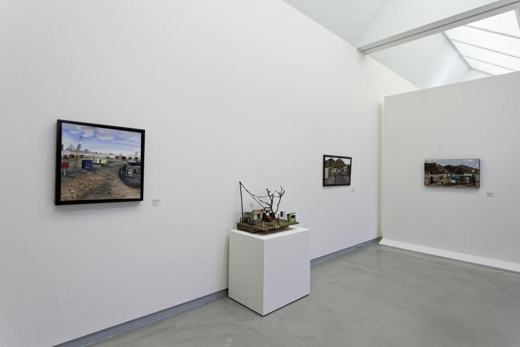 Vue de l'exposition Namibia, l'art d'une jeune géNérATION - Musée Würth (9)