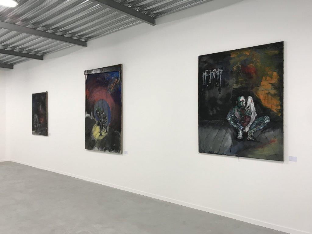 Vue de l'exposition Philippe Pasqua, Versus - The Storage (16)