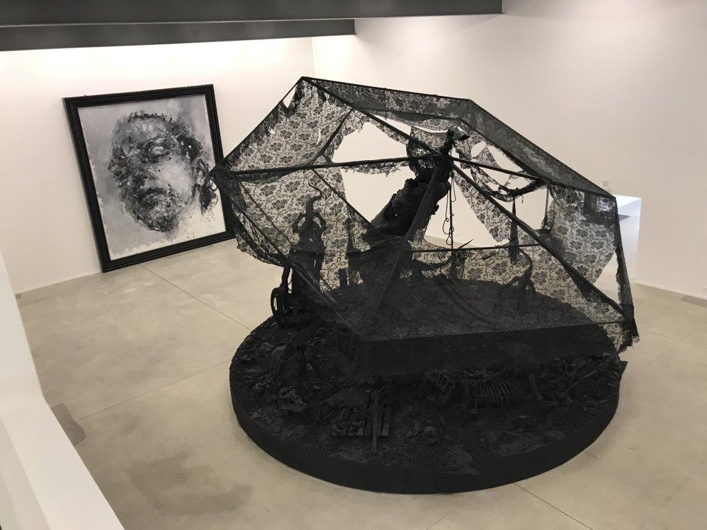 Vue de l'exposition Philippe Pasqua, Versus - The Storage (24)